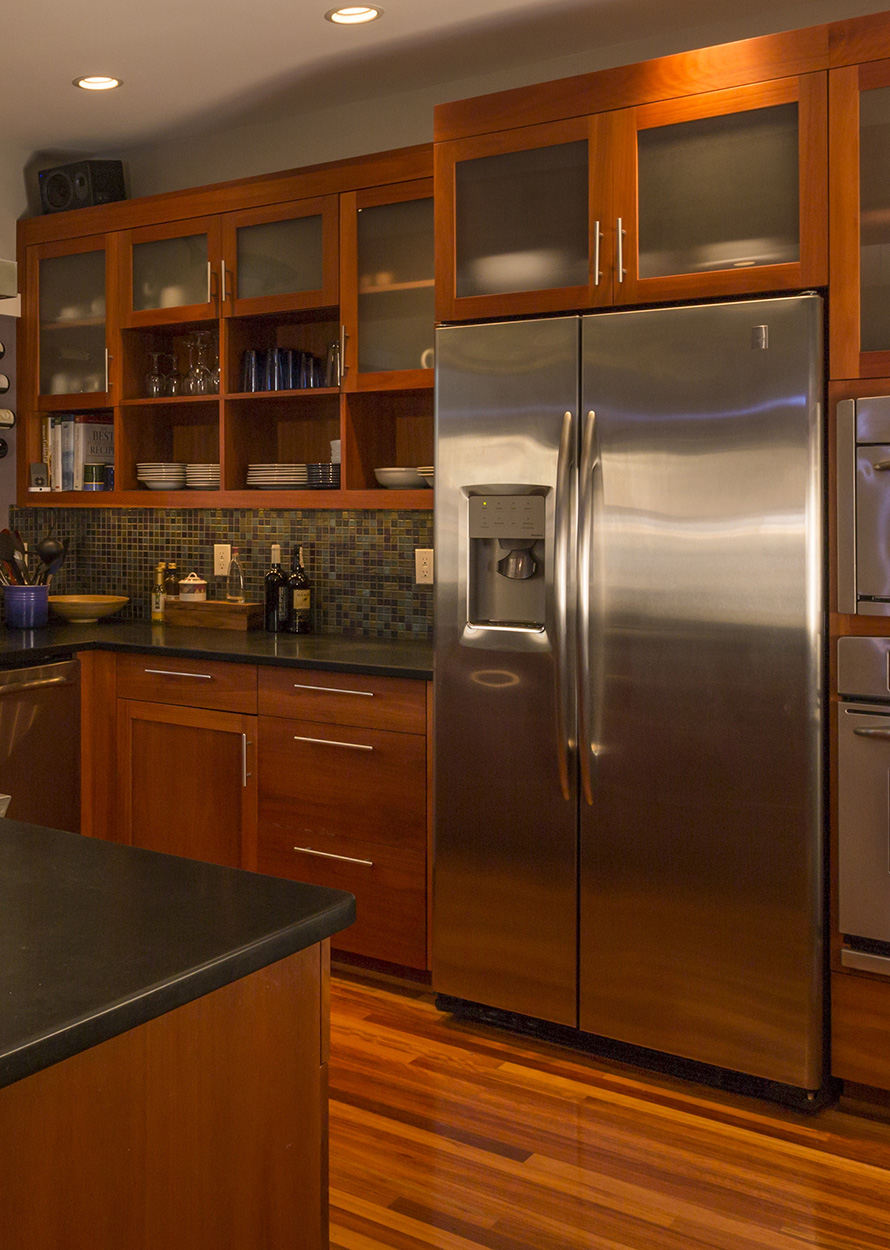 Working refrigerator after refrigerator repair