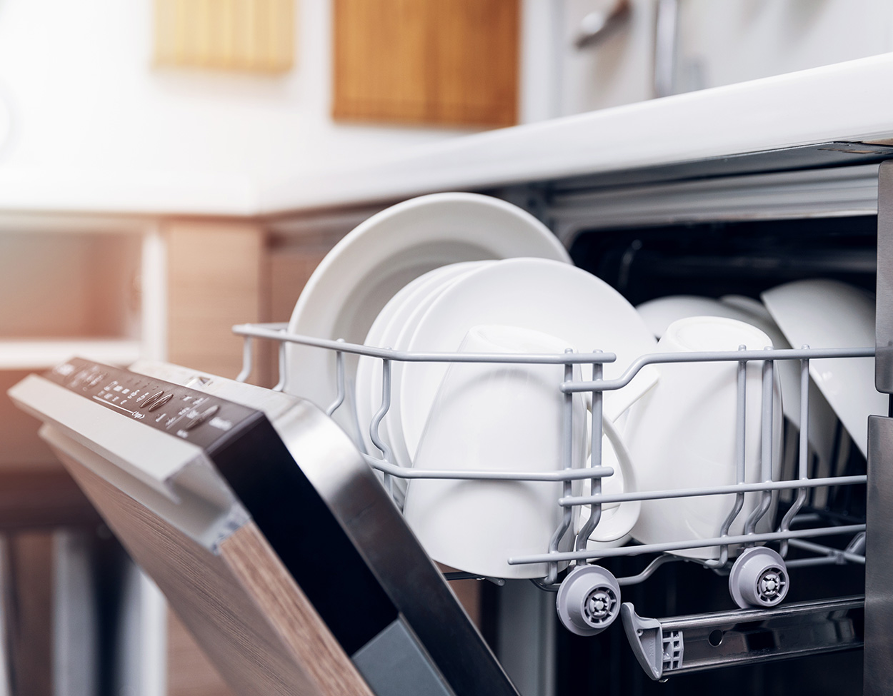 working dishwasher after repair in Reno and Sparks